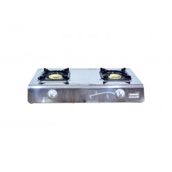 Gas Stove with 2 Burners (Auto Ignition) Full Safety