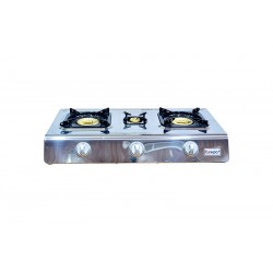Gas Stove with 3 Burners (Auto Ignition) Full Safety