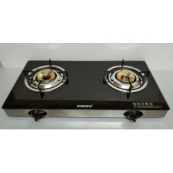 Gas Stove with 2 Burner - GLASS TOP